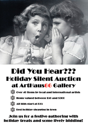 Holiday Silent Auction Friday December 5th 5 - 8 pm